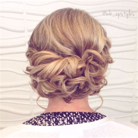 soft updos for mother of the bride low loose updo wedding hairstyle for more styles visit