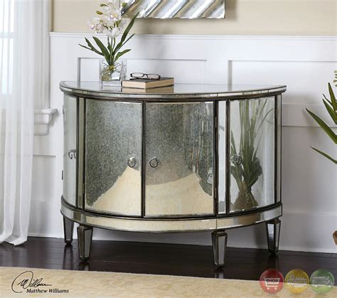 Mirrored Console Cabinet by Sainsbury Mirrored Console Storage Cabinet 24376