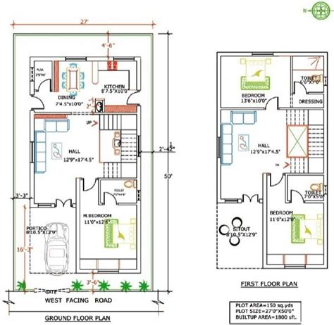 Kerala Home Design West Facing by 42 Plantas De Casas Duplex E Geminadas Para Construir