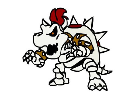 mario coloring pages bowser photograph dry bowser from new