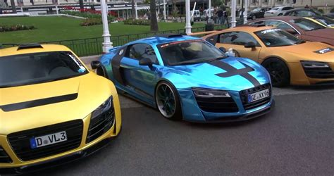 audi r8 chrome blue chrome blue widebody 2013 audi r8 by performance