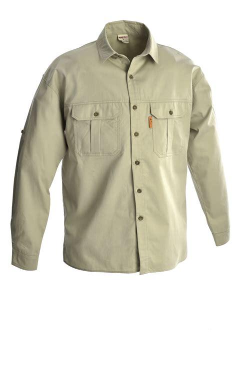 rugged sleeves sleeve khaki shirt safari wear kendrick import