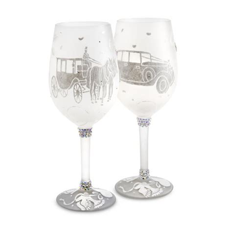 Wedding Gift Wine Glasses by Happy After Wine Glass Wedding Gift Set
