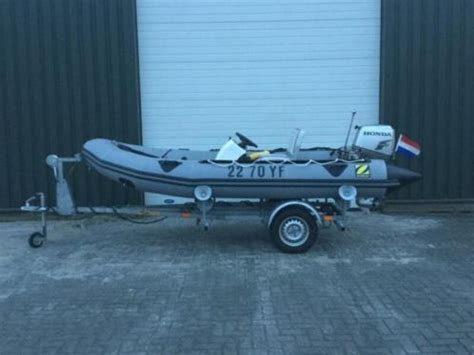 rubberboot met motor 25 pk rubberboot zodiac honda 30 pk advertentie 688851