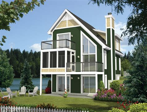 Uki Country Cottage Cabin Style House Plan 3 Beds 2 00 Baths 1293 Sq Ft Plan