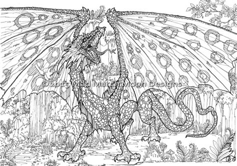 coloring pages of dragons for adults free dragon adult coloring pages