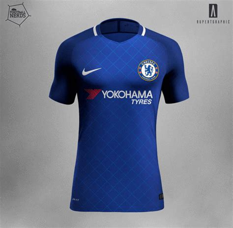Iphone 7 Plus Arsenal Home Jersey Hardcase unique nike chelsea 17 18 concept kits revealed footy
