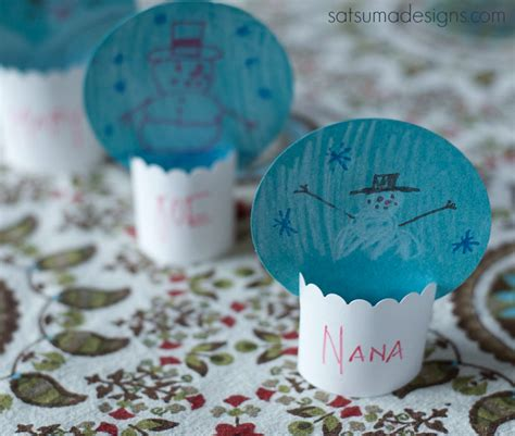 Diy Gift Card Snow Globe - diy paper snow globe place cards project nursery