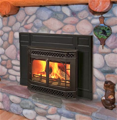 fireplace inserts wood burning installation