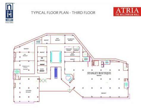 market mall floor plan atria the millennium mall worli shopping malls in mumbai