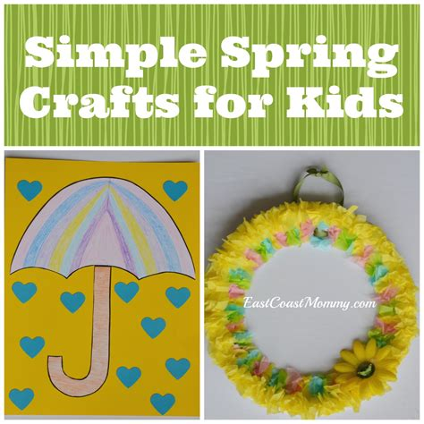 simple craft activities for east coast simple crafts for