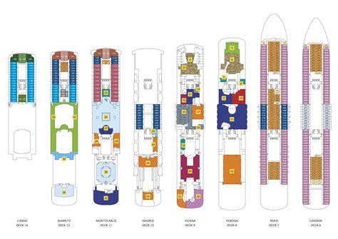 aidaperla deckplan costa deckplan deckpl 228 ne der kompletten costa flotte