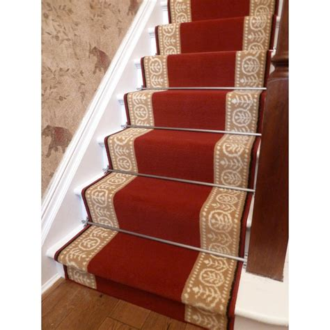 Washable Rugs Red Stair Carpet Runner 187 Home Decorations Insight