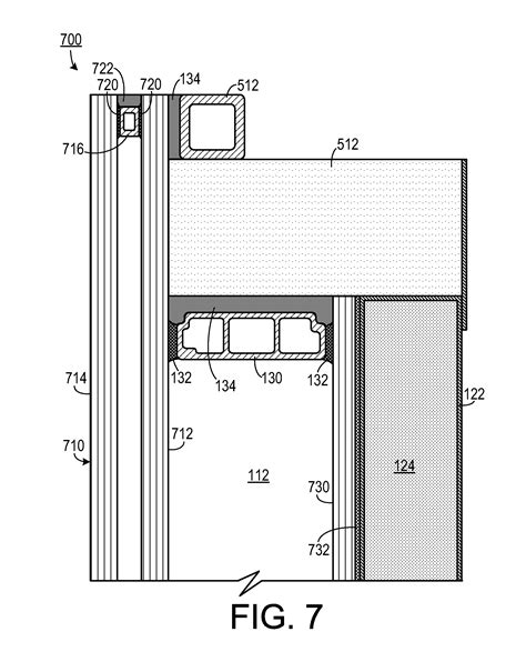 shadow box curtain wall patent us20140208669 panelized shadow box google patents