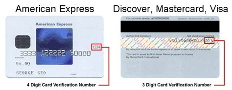 Where Is The Gift Card Number On American Express - credit card cvv locations