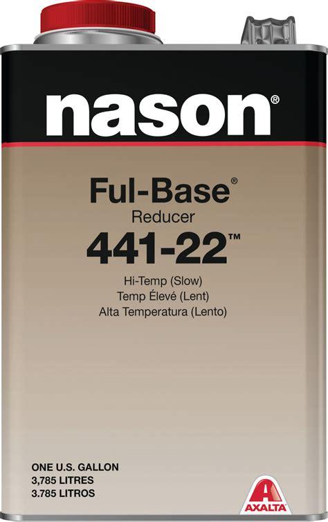 axalta nason ful base reducer   slow gallon