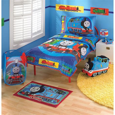 thomas and friends bedroom thomas friends toddler bedding set 4 pc