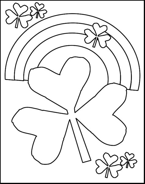 Printable St Patricks Day Coloring Pages Az Coloring Pages St Patricks Coloring Pages