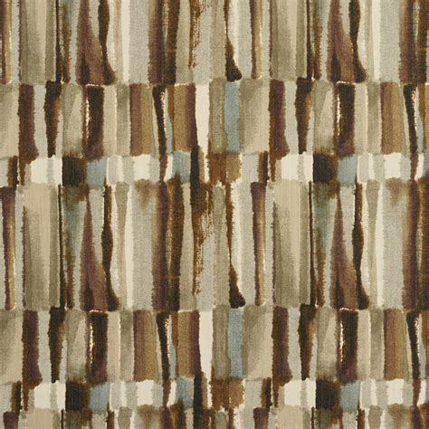 watercolor upholstery fabric brown and grey watercolor abstract bark or bamboo print