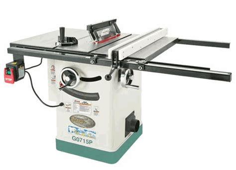 grizzly hybrid tablesaw model g0715p eht