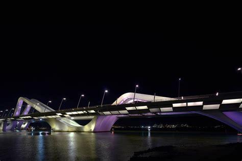 Home Library Lighting by Sheikh Zayed Bridge Abu Dhabi Uae Rogier Van Der Heide