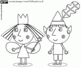 ben holly coloring pages printable games