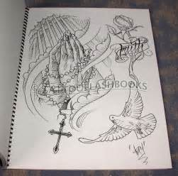 cross tattoo flash art religious drawings abey alvarez abey