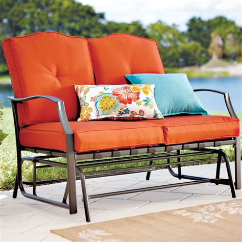 outdoor loveseat glider cushions loveseat glider cushions cookwithalocal home and space