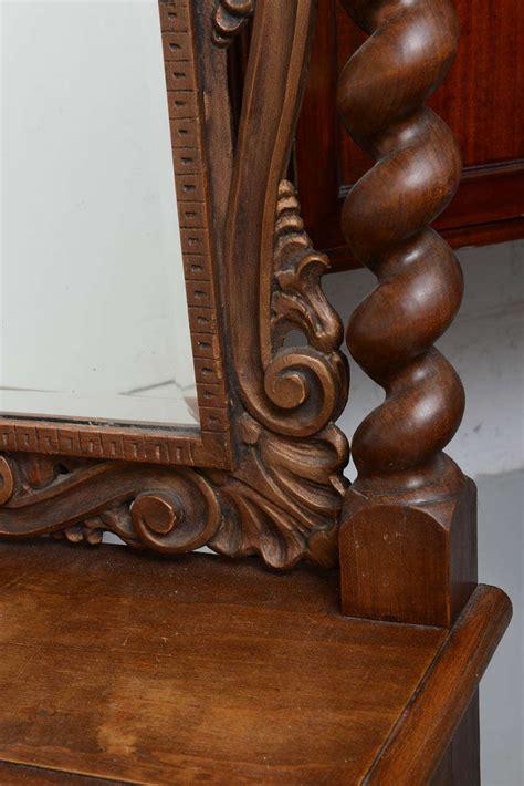 Cheval Mirror With Drawer by Cheval Dressing Mirror With Single Drawer Carved 19th Century At 1stdibs