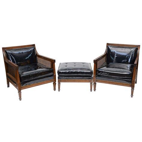 hollywood regency ottoman hollywood regency armchairs ottoman at 1stdibs