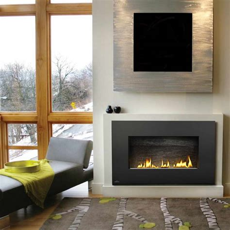 gas fireplace unvented decoration modern gas fireplaces ventless interior