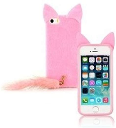 Iphone 5 5s Pink bol iphone 5 5s pink fluffy cat cover