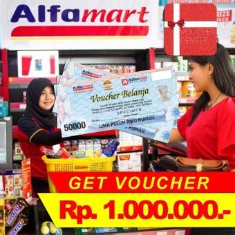 alfamart voucher rp 1 000 000 lazada indonesia