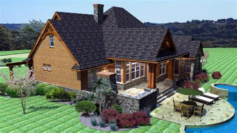 Cottage Craftsman Tuscan House Plan 65862 Tuscan Cottage House Plans