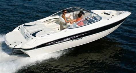 stingray boats outboard 225 bow rider boat w volvo inboard outboard