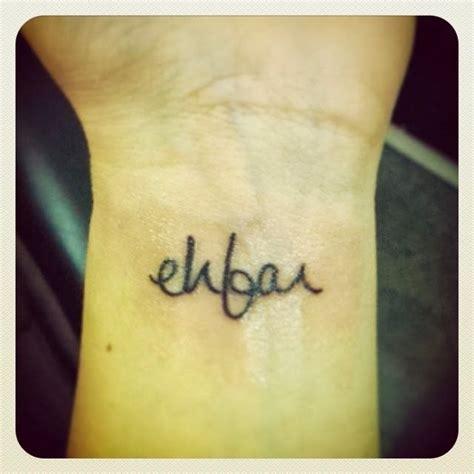 ehfar tattoo ehfar acronym pairodicetattoos
