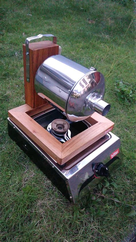 membuat alat sangrai kopi sederhana berbagai alat