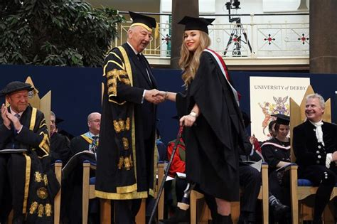 Of Derby Mba Top Up by Alton Towers Balch Walks In Heels As She