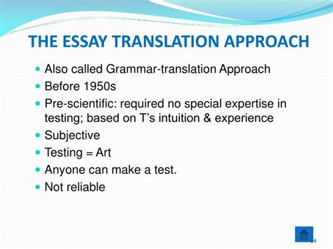 thesis in translation ppt tsl 3112 language assessment powerpoint