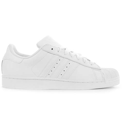 adidas s superstar ii all white white shoes g17071 wooki