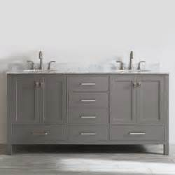 Double Sink Bathroom Vanity » Home Design 2017