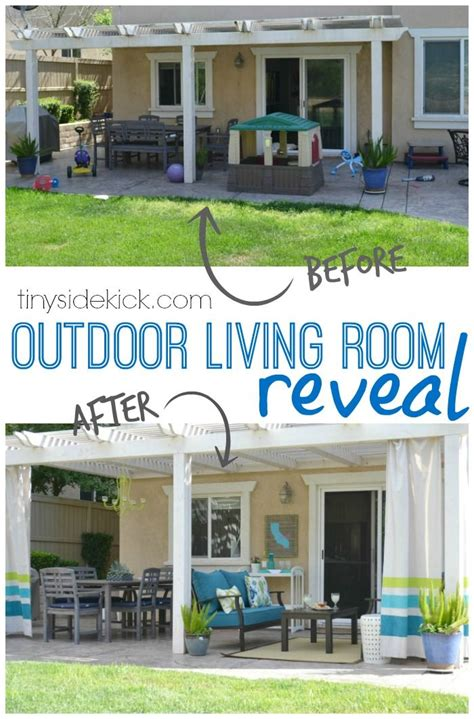 diy outdoor living spaces how to turn your patio into an outdoor living room oasis