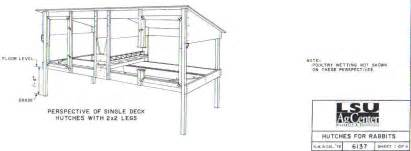 building rabbit hutches plans free toin woodworking plans rabbit hutch