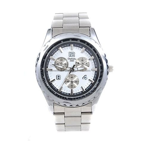 silver metal s quartz wrist free shipping