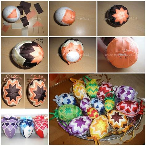decorated easter eggs diy patchwork decorated easter eggs