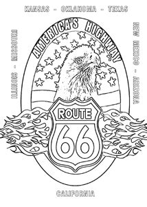 Route 66 Coloring Pages Route Colouring Pages Sketch Coloring Page by Route 66 Coloring Pages