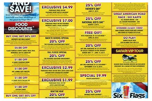 great america coupons 2018