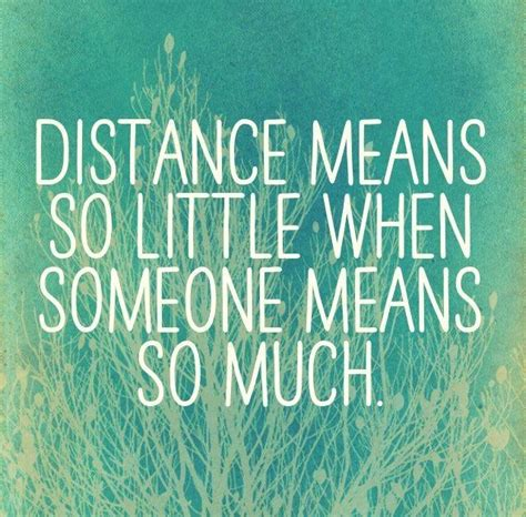 quotes for distance distance relationship quotes
