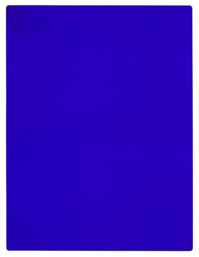 Yves Klein Blue by Yves Klein Formidable Magazine