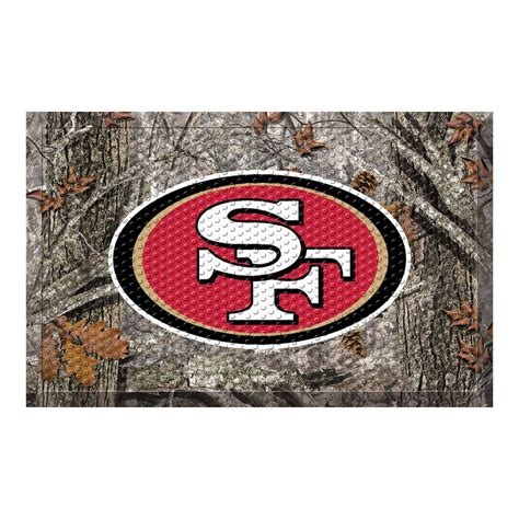 49ers Doormat by Fanmats Nfl San Francisco 49ers 19 In X 30 In Indoor